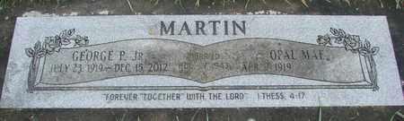 MARTIN, GEORGE P JR - Marion County, Oregon | GEORGE P JR MARTIN - Oregon Gravestone Photos