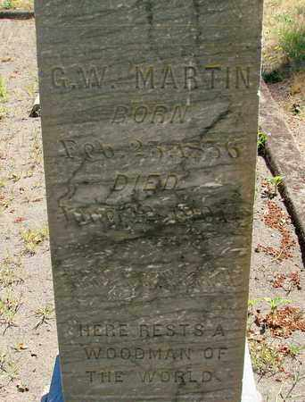 MARTIN, GEORGE WASHINGTON - Marion County, Oregon | GEORGE WASHINGTON MARTIN - Oregon Gravestone Photos