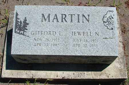 MARTIN, JEWELL N - Marion County, Oregon | JEWELL N MARTIN - Oregon Gravestone Photos
