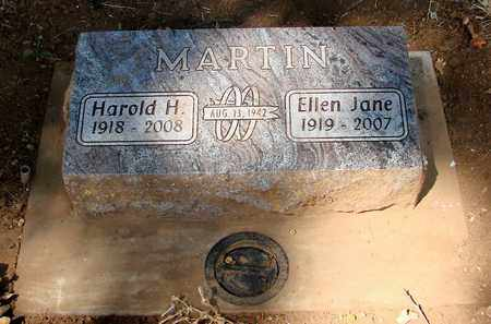 MARTIN, HAROLD HUGH - Marion County, Oregon | HAROLD HUGH MARTIN - Oregon Gravestone Photos