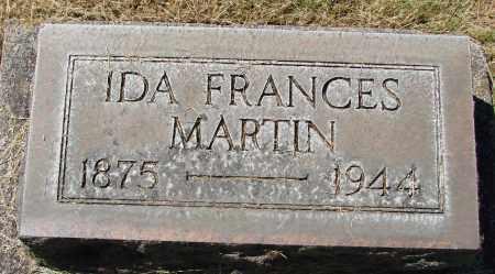 MARTIN, IDA FRANCES - Marion County, Oregon | IDA FRANCES MARTIN - Oregon Gravestone Photos