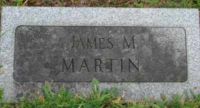 MARTIN, JAMES M - Marion County, Oregon | JAMES M MARTIN - Oregon Gravestone Photos