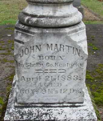 MARTIN, JOHN - Marion County, Oregon | JOHN MARTIN - Oregon Gravestone Photos