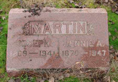 MARTIN, JENNIE AMELIA - Marion County, Oregon | JENNIE AMELIA MARTIN - Oregon Gravestone Photos
