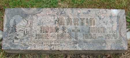 MARTIN, NORA E - Marion County, Oregon | NORA E MARTIN - Oregon Gravestone Photos