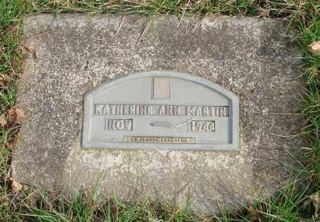 MARTIN, KATHERINE ANN - Marion County, Oregon | KATHERINE ANN MARTIN - Oregon Gravestone Photos