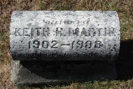 MARTIN, KEITH H - Marion County, Oregon | KEITH H MARTIN - Oregon Gravestone Photos