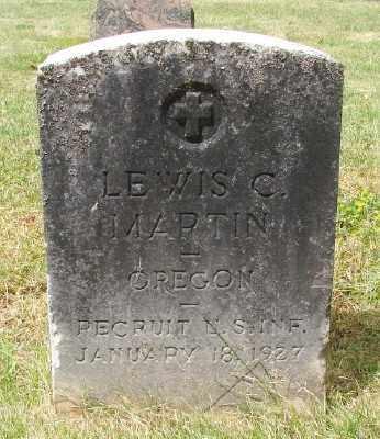 MARTIN, LEWIS C - Marion County, Oregon | LEWIS C MARTIN - Oregon Gravestone Photos