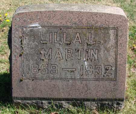 MARTIN, LILLA LINCOLN - Marion County, Oregon | LILLA LINCOLN MARTIN - Oregon Gravestone Photos