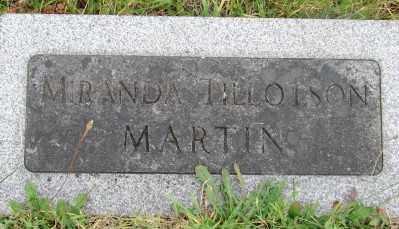 MARTIN, MIRANDA - Marion County, Oregon | MIRANDA MARTIN - Oregon Gravestone Photos