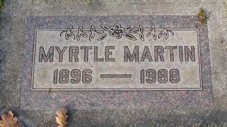 MARTIN, MYRTLE - Marion County, Oregon | MYRTLE MARTIN - Oregon Gravestone Photos
