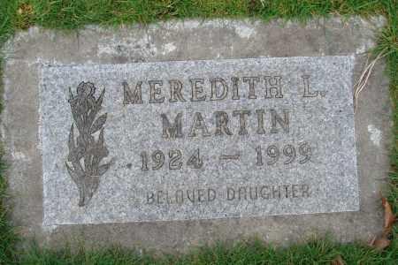MARTIN, MEREDITH L - Marion County, Oregon | MEREDITH L MARTIN - Oregon Gravestone Photos