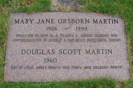 MARTIN, MARY JANE - Marion County, Oregon | MARY JANE MARTIN - Oregon Gravestone Photos