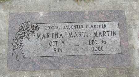 MARTIN, MARTHA - Marion County, Oregon | MARTHA MARTIN - Oregon Gravestone Photos