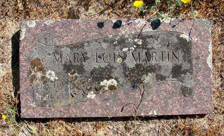 MARTIN, MARY LOIS - Marion County, Oregon | MARY LOIS MARTIN - Oregon Gravestone Photos