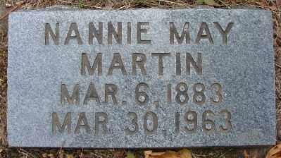 MARTIN, NANNIE MAY - Marion County, Oregon | NANNIE MAY MARTIN - Oregon Gravestone Photos