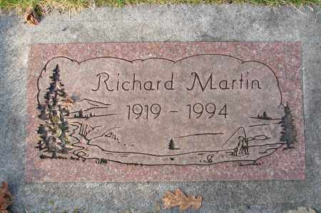 MARTIN, RICHARD - Marion County, Oregon | RICHARD MARTIN - Oregon Gravestone Photos