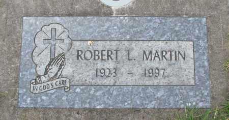 MARTIN, ROBERT L - Marion County, Oregon | ROBERT L MARTIN - Oregon Gravestone Photos