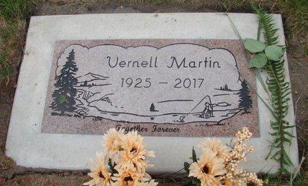MARTIN, VERNELL - Marion County, Oregon | VERNELL MARTIN - Oregon Gravestone Photos