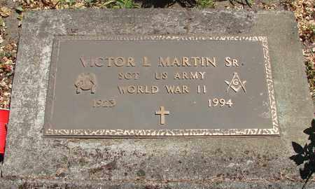 MARTIN, VICTOR LARKIN, SR - Marion County, Oregon | VICTOR LARKIN, SR MARTIN - Oregon Gravestone Photos