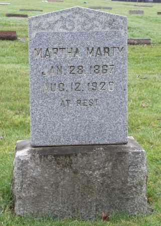 MARTY, MARTHA - Marion County, Oregon | MARTHA MARTY - Oregon Gravestone Photos
