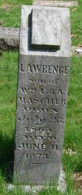MASCHER, LAWRENCE - Marion County, Oregon   LAWRENCE MASCHER - Oregon Gravestone Photos