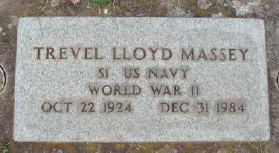 MASSEY (WWII), TREVEL LLOYD - Marion County, Oregon   TREVEL LLOYD MASSEY (WWII) - Oregon Gravestone Photos