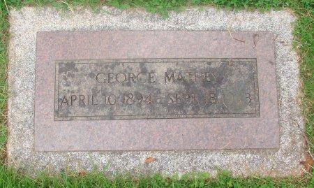 MATHEY, GEORGE - Marion County, Oregon | GEORGE MATHEY - Oregon Gravestone Photos