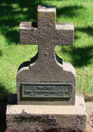 MATHEY, STANISLAUS - Marion County, Oregon | STANISLAUS MATHEY - Oregon Gravestone Photos