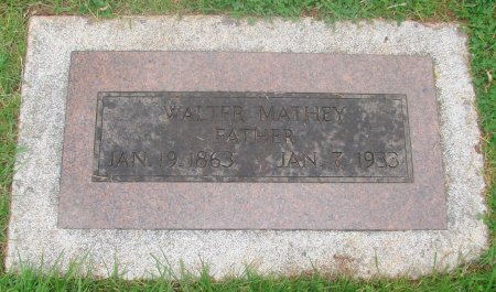 MATHEY, WALTER - Marion County, Oregon | WALTER MATHEY - Oregon Gravestone Photos
