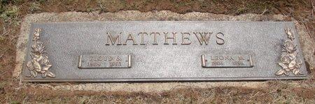 MATTHEWS, LEONA MAE - Marion County, Oregon | LEONA MAE MATTHEWS - Oregon Gravestone Photos