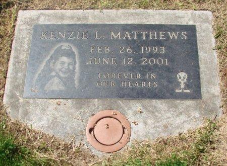 MATTHEWS, KENZIE L - Marion County, Oregon | KENZIE L MATTHEWS - Oregon Gravestone Photos
