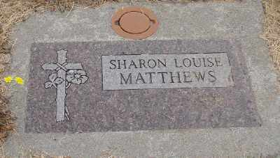 MATTHEWS, SHARON LOUISE - Marion County, Oregon   SHARON LOUISE MATTHEWS - Oregon Gravestone Photos