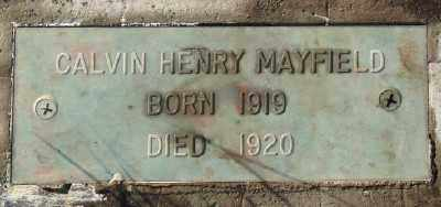 MAYFIELD, CALVIN HENRY - Marion County, Oregon | CALVIN HENRY MAYFIELD - Oregon Gravestone Photos