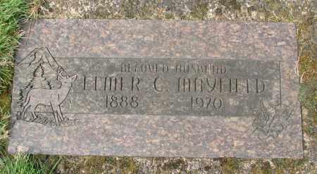 MAYFIELD, ELMER CLEVELAND - Marion County, Oregon | ELMER CLEVELAND MAYFIELD - Oregon Gravestone Photos