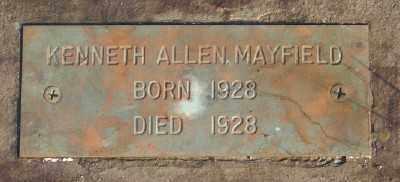 MAYFIELD, KENNETH ALLEN - Marion County, Oregon | KENNETH ALLEN MAYFIELD - Oregon Gravestone Photos