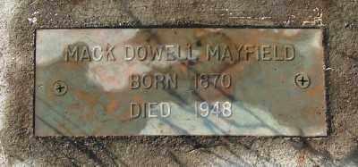 MAYFIELD, MCDOWELL - Marion County, Oregon | MCDOWELL MAYFIELD - Oregon Gravestone Photos