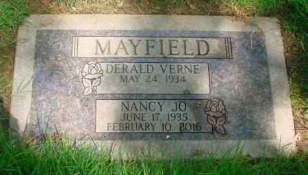 MAYFIELD, DERALD VERNE - Marion County, Oregon | DERALD VERNE MAYFIELD - Oregon Gravestone Photos
