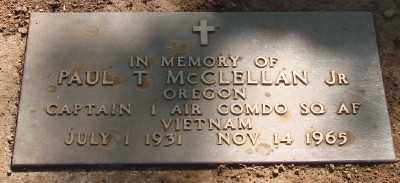 MCCLELLAN (VN), PAUL TRUMAN - Marion County, Oregon | PAUL TRUMAN MCCLELLAN (VN) - Oregon Gravestone Photos