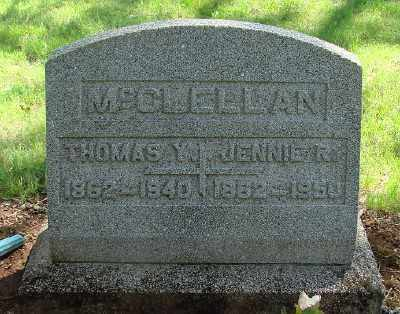 MCCLELLAN, JENNIE R - Marion County, Oregon | JENNIE R MCCLELLAN - Oregon Gravestone Photos