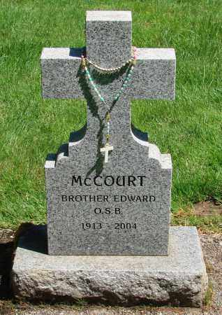 MCCOURT, EDWARD J - Marion County, Oregon | EDWARD J MCCOURT - Oregon Gravestone Photos