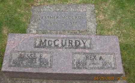 MCCURDY, REX ALLEN - Marion County, Oregon | REX ALLEN MCCURDY - Oregon Gravestone Photos