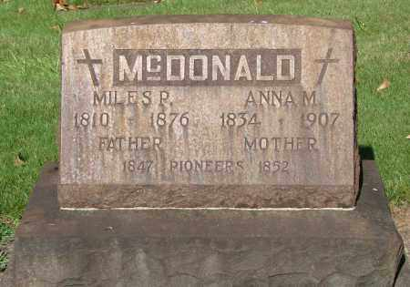 MCDONALD, MILES P - Marion County, Oregon | MILES P MCDONALD - Oregon Gravestone Photos