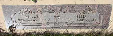 MCDONALD, PETER - Marion County, Oregon | PETER MCDONALD - Oregon Gravestone Photos