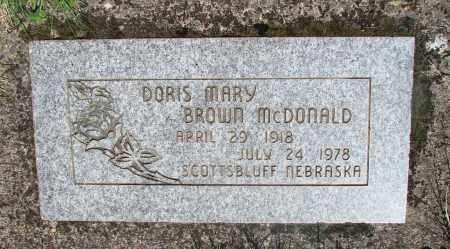 BROWN, DORIS MARY - Marion County, Oregon | DORIS MARY BROWN - Oregon Gravestone Photos