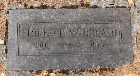 MCDONALD, FLORENCE - Marion County, Oregon   FLORENCE MCDONALD - Oregon Gravestone Photos