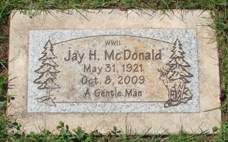 MCDONALD, JAY HENDERSON - Marion County, Oregon | JAY HENDERSON MCDONALD - Oregon Gravestone Photos