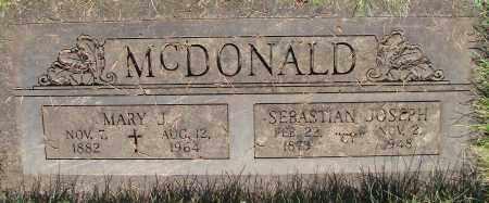 MCDONALD, SEBASTIAN JOSEPH - Marion County, Oregon | SEBASTIAN JOSEPH MCDONALD - Oregon Gravestone Photos