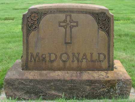 MCDONALD, MONUMENT - Marion County, Oregon | MONUMENT MCDONALD - Oregon Gravestone Photos