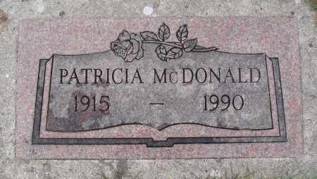 MCDONALD, PATRICIA - Marion County, Oregon | PATRICIA MCDONALD - Oregon Gravestone Photos